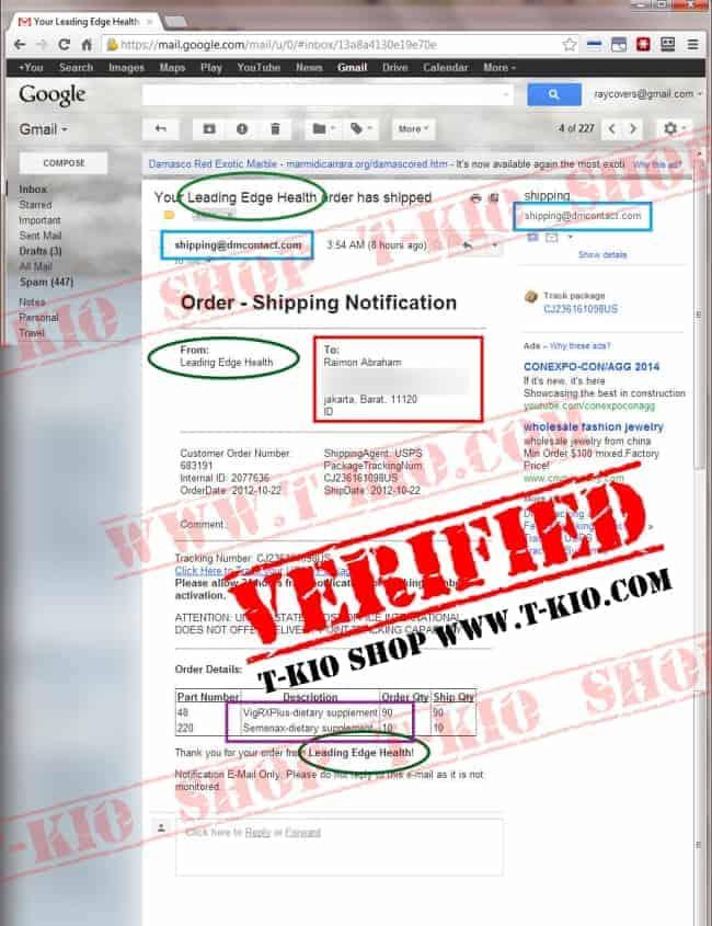 vigrxplus-invoice-proof