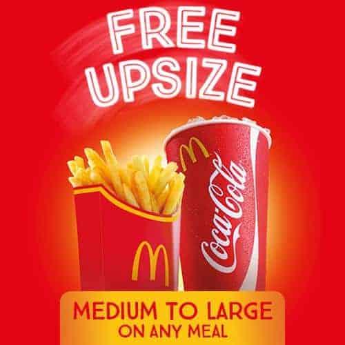 free upsize
