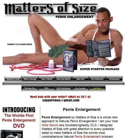 Matters of Size DVD