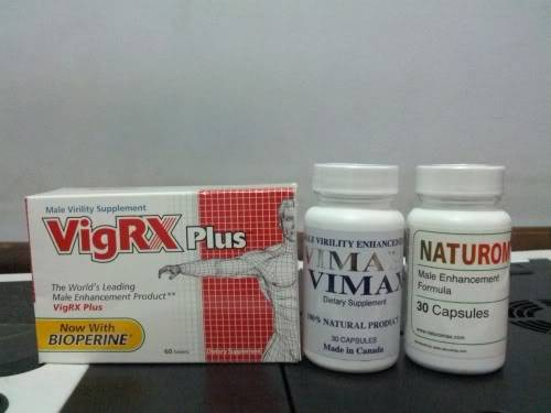 VigRX Plus vs Vimax vs Naturomax